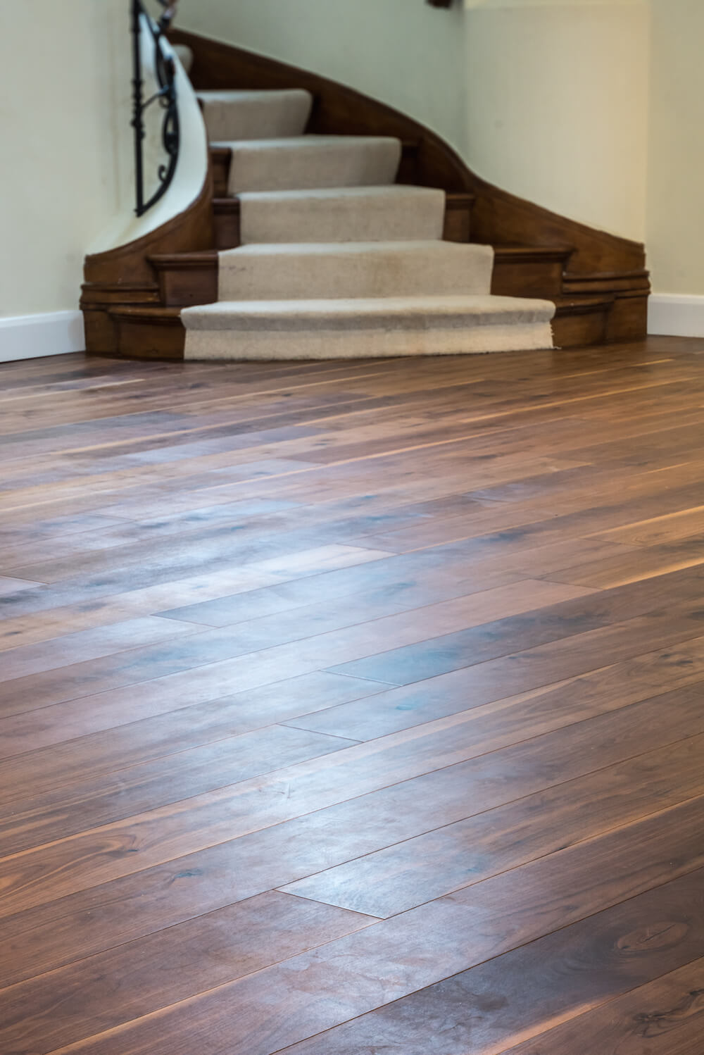 fitted wooden flooring